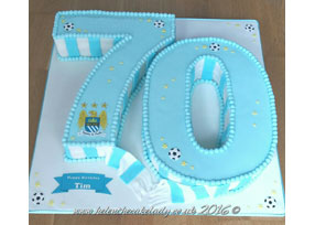 Shaped 70th Manchester City