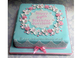 Ladies 60th Floral Pastel